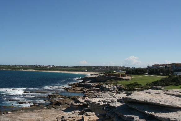 "Maroubra ""Baths"" and Beach"