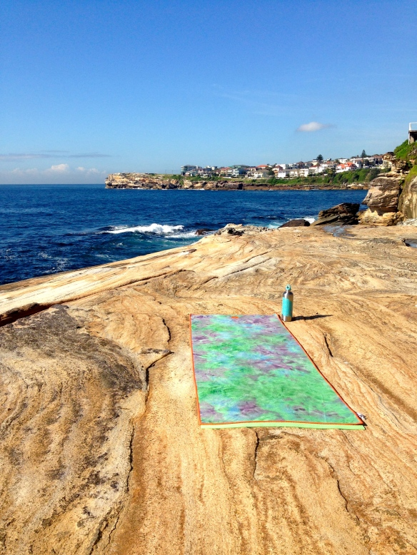 Yoga on the South Coogee Cliffs