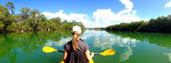 Kayaking in Noosa