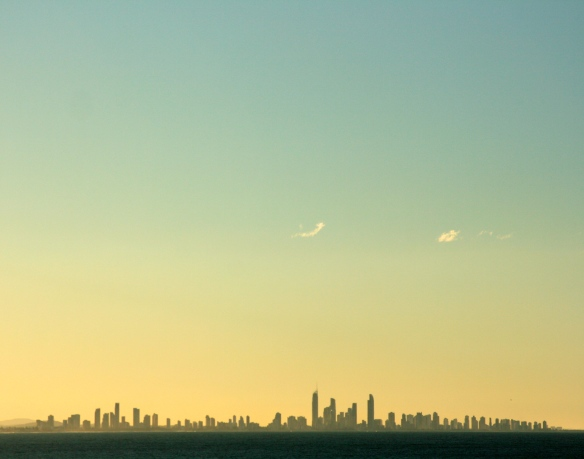 View of the Gold Coast from Tweed Heads