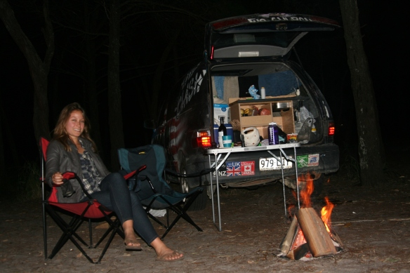 Camping for 3 days at Great Sandy National Park