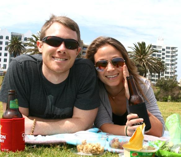 St. Kilda beach picnic