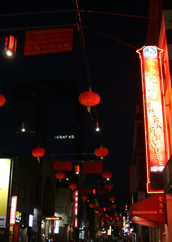 China Town ally-way for some delicious dumplings.
