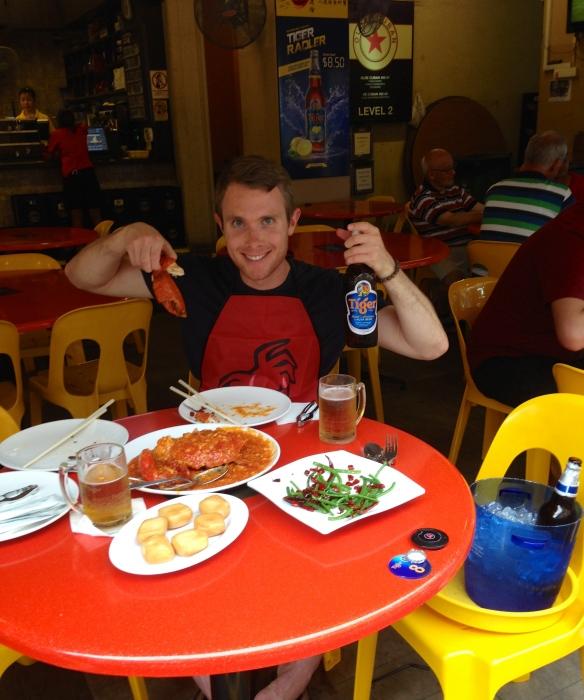 Chili Crab in Chinatown