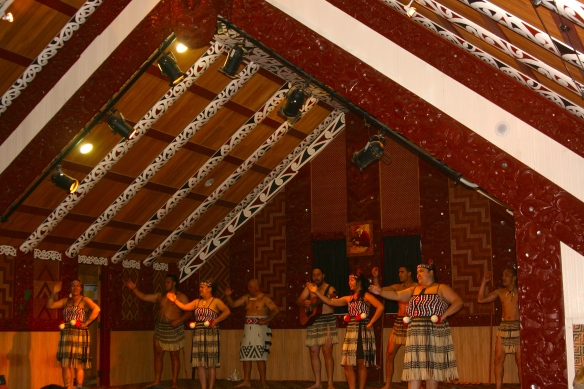 Māori dances.