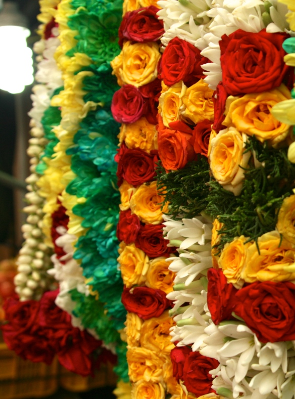 Flower Chains in Little India