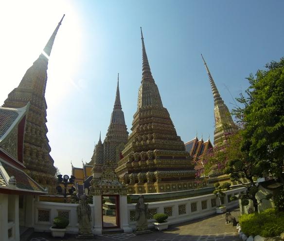 The 4 Great Stupas - Wat Pho