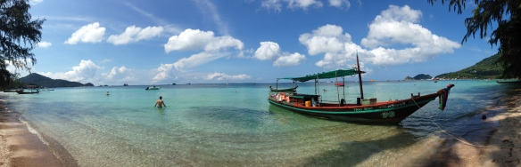 Sairee Beach snorkeling.