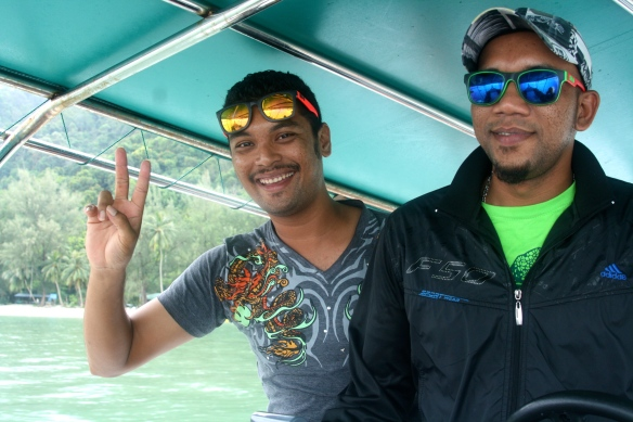 Our long-tail boat captains.
