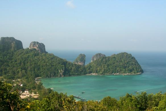 Loh Lana Bay Viewpoint.