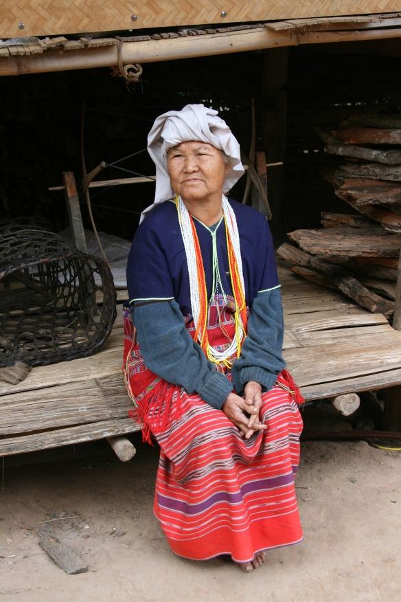 Karin tribeswoman