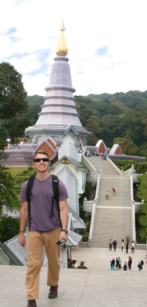 Visiting the King and Queen's Pagodas at the peak