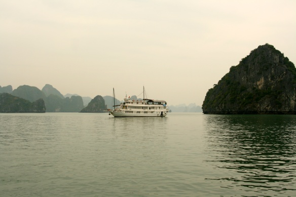 Our Halong Bay boat, V' Spirit
